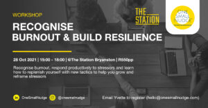 Recognise Burnout and Build Resilience